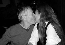 The founder of ID Terry Jones and his wife Trisha kissing at…