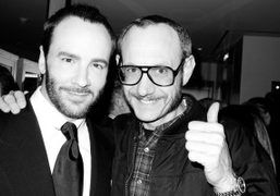 Tom and Terry, partners in crime, at the opening of the new…