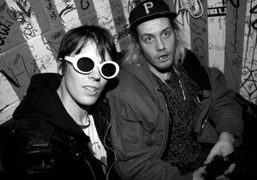 Ryan McGinley and Jack Donoghue from the band Salem at Don Hill's…
