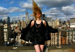 The photographer Elle Muliarchyk before our shoot with Vogue Italia, New York….