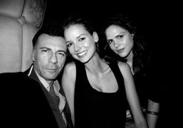 The Above editor Nicolas Rachline and two friends at Boom Boom Room…