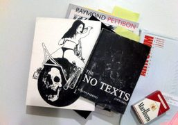 Blankness is Not a Void by Campbell, Parrino and Pettibon