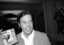 Andy Spade the co-founder of Partners & Spade, New York. Photo Olivier…