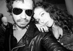 Olivier Zahm and Chiara Clemente at the presentation of Eddie Bauer Fall…
