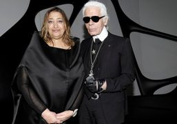OPENING NIGHT OF THE CHANEL PAVILLON MOBILE ART at the institut du...