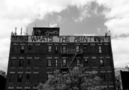 A picture of New York graffiti. Photo Terry Richardson