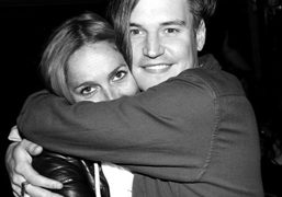 Aleksandra Woroniecka and Nate Lowman at his (and Aaron Young's) party for…