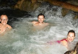 Terry Richardson, Andrew Richardson and Kate Moss swimming in Jamaica. Photo Terry…