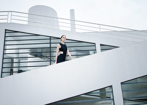 Hugo Boss Spring / Summer 2015 Collection at the Villa Savoye