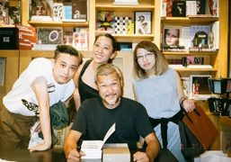 "Tomoo Gokita book singing of ""777"" at BOOKMARC, Tokyo"