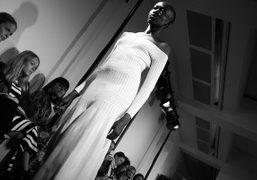 One look from the Barbara Casasola S/S 2016 show at the Serpentine...