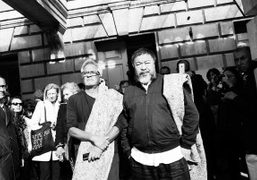 Anish Kapoor and Ai Weiwei Walk Out of London in solidarity for...