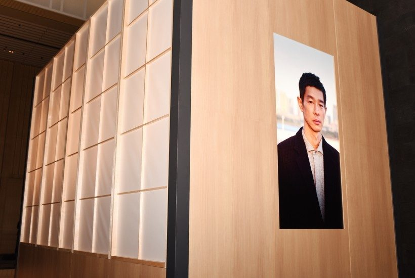 """Takashi Homma Photo exhibition for the Zegna """"Made in Japan"""" collection, art directed by Purple Institute"""