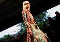 Gucci S/S 2016 show at Open Custom, Milan