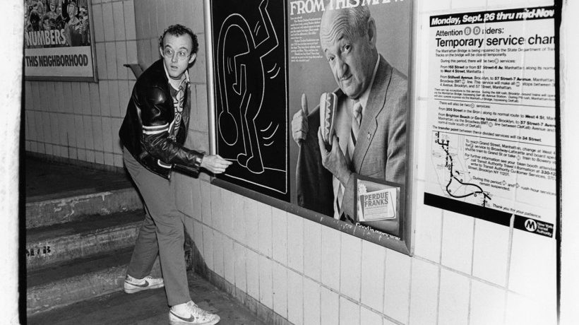 Kenny Scharf TV Takeover / From the archives: Keith Haring Was Here