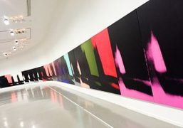"Andy Warhol ""Unlimited"" at Musée d'Art moderne de la Ville de Paris,..."