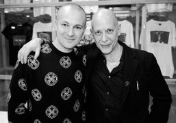 """Gosha Rubchinskiy's """"Youth Hotel"""" book signing at the Dover Street Market open..."""
