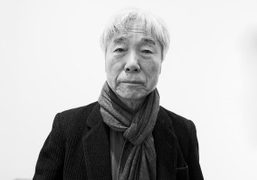 """Lee Ufan """"From Point, From Line, From Wind"""" exhibition at Pace Gallery,..."""