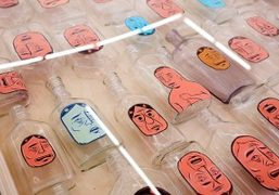 "Barry McGee ""China Boo"" Exhibition at Ratio 3, San Francisco"