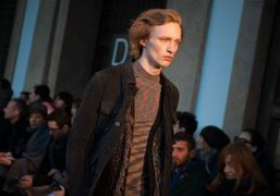 Missoni Men's F/W 2016 show at the Università degli Studi di Milano,...