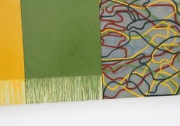 """Brice Marden """"New Paintings and Drawings"""" exhibition at Matthew Marks Gallery, Los..."""