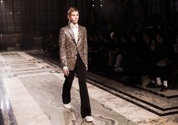 Alexander McQueen Men's F/W 2016 show at the Foreign and Commonwealth Office,...