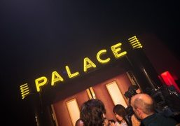 The doors to Le Palace for the Jean Paul Gaultier Haute Couture...