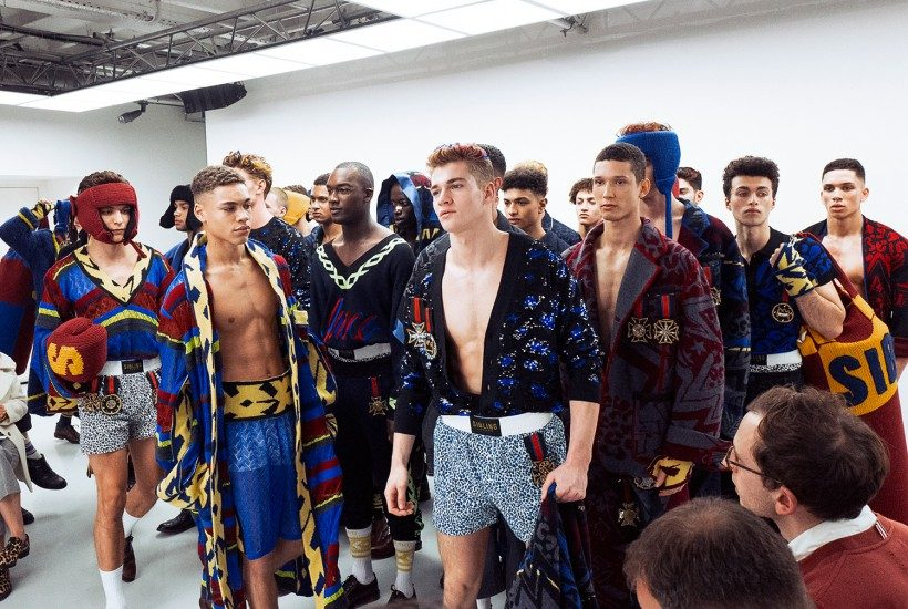 Sibling Men's F/W 2016 show at Victoria House, London