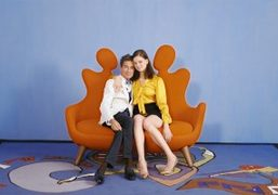 Santoni S/S 2016 starring Lily McMenamy and Vincent Darré