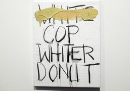 """""""Pope.L Will Boone"""" by Pope.L and Will Boone at Andrea Rosen Gallery,..."""