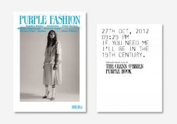 You can now buy the new issue of Purple Fashion magazine #25...