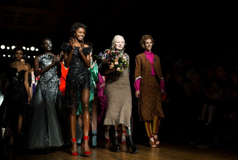 Vivienne Westwood Red Label F/W 2016 show at The Royal College of Surgeons of England, London