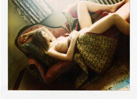 Balthus Polaroids