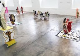 """Betty Woodman """"Theatre of the Domestic"""" exhibition at ICA, London"""