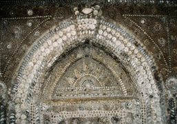 A view inside the Shell Grotto in Margate, Kent