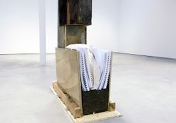 """Ariana Reines and Oscar Tuazon """"Pubic Space"""" exhibition at Modern Art, London"""
