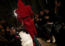 Vetements F/W 2016 at the American Cathedral, Paris