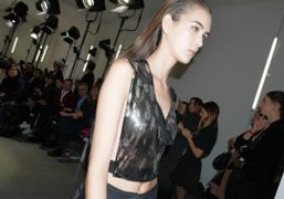 Paco Rabanne F/W 2016 show at the Musée d'Art Moderne de la...