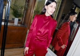 One look from the Pallas F/W 2016 presentation at Galerie de Beaujolais,...