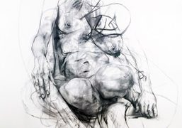 "Jenny Saville ""Erota"" exhibition at Gagosian Gallery, London"