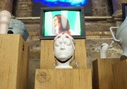 """Mark Leckey """"Uniadddumths"""" exhibition opening at Sant'Andrea de Scaphis, Rome"""
