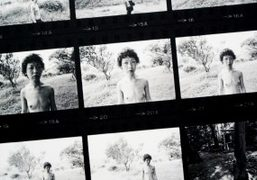 "Nobuyoshi Araki ""Sentimental Journey — The Complete Contact Sheets"" exhibition at IMA..."