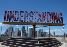 "Martin Creed ""Work No. 2630: UNDERSTANDING"" Commissioned by Public Art Fund at..."