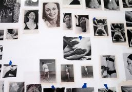 """Carmen Winant """"Who Says Pain is Erotic?"""" exhibition at Fortnight Institute, New..."""