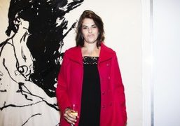 "Tracey Emin ""Stone Love"" exhibition opening at Lehmann Maupin, New York"