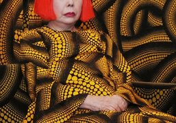 Win the chance for artist Yayoi Kusama to transform your Airbnb bedroom...