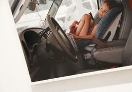 """Justine Kurland """"Auto Parts"""" exhibition at Kayne Griffin Corcoran, Los Angeles"""