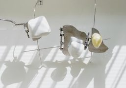 """Nairy Baghramian """"Scruff of the Neck"""" exhibition at Marian Goodman Gallery, London"""