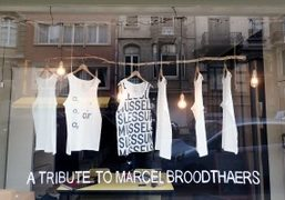 A tribute to Marcel Broodthaers at the occasion of the 40th anniversary...