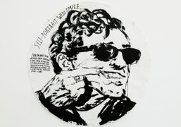 """Raymond Pettibon """"Bakersfield to Barstow to Cucamonga to Hollywooyd"""" exhibition at Sadie..."""